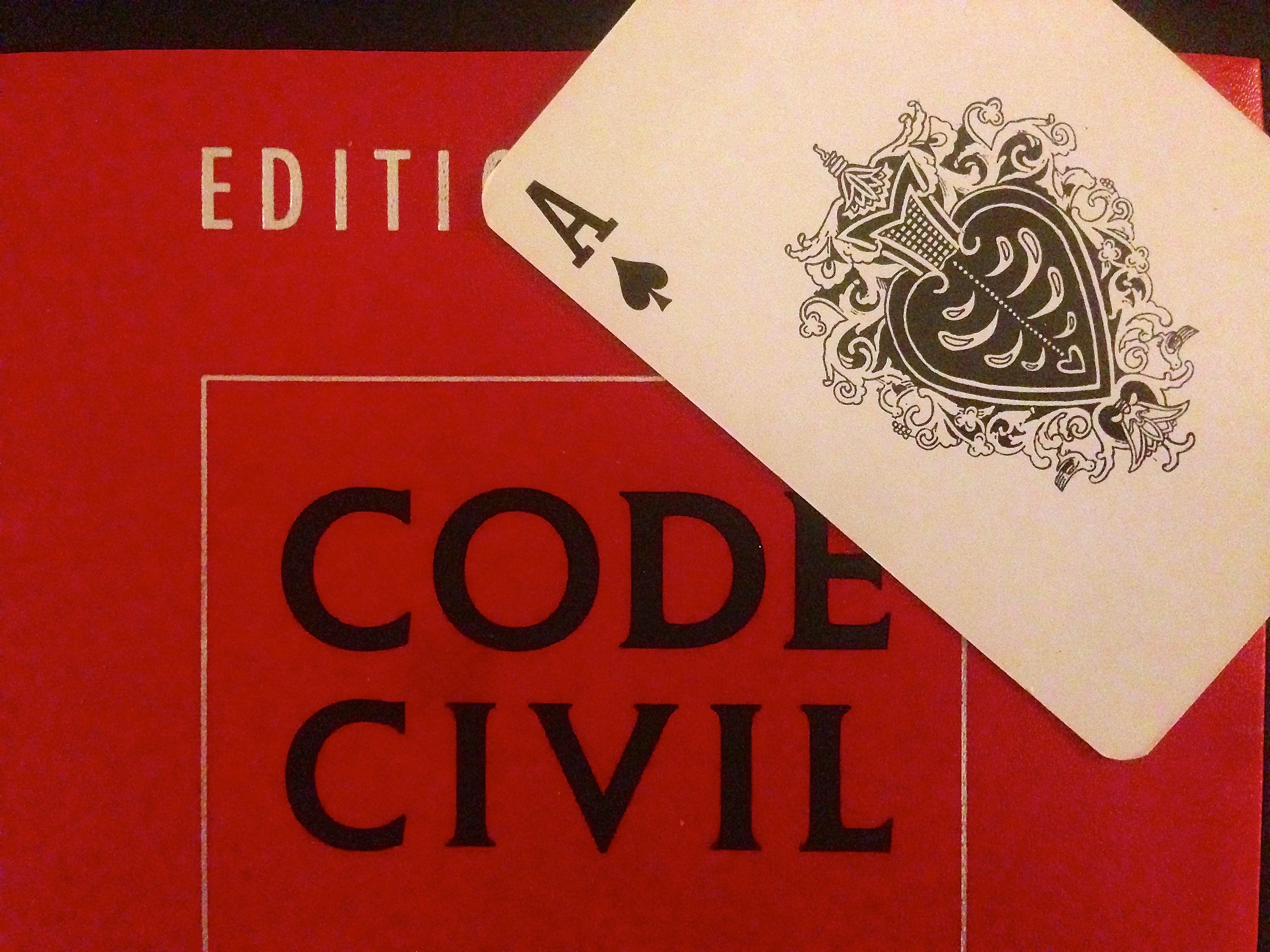 rencontre des volontés code civil