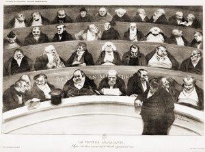 Stéphane Larrière-La Loi des Parties-En bon père de famille-Daumier